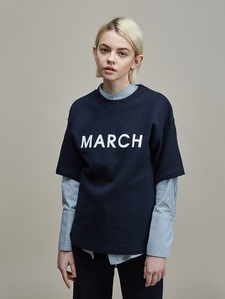 [30%SALE] MARCH PRINT TEE NY