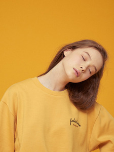 [SEASON OFF 30%] FD BASIC 1/2 TEE YE