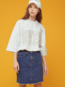 [SALE 20%] 17 OVER 1/2 TEE GY