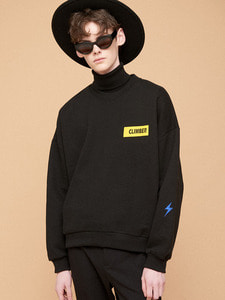 [SALE 30%] CLIMBER PATCH SWEATSHIRT BK