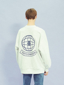 YOUTH PLANET SWEATSHIRT GY