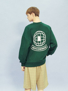 YOUTH PLANET SWEATSHIRT GN