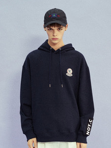 [30% SALE] NC PATCH HOODIE NY