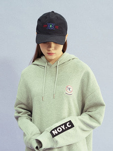[30% SALE] NC PATCH HOODIE GY